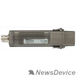 Сетевое оборудование MikroTik RBMetalG-52SHPacn Беспроводная точка доступа Metal 52 ac 2.4/5GHz 802.11a/b/g/n/ac wireless, RouterOS L4, metal case, mounting loops, PoE, PSU, Omni antenna