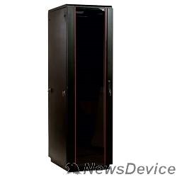 Монтажное оборудование ЦМО Шкаф телекоммуникационный напольный 33U (600x800) дверь стекло, цвет чёрный (ШТК-М-33.6.8-1ААА-9005) (3 места)