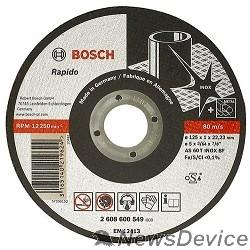 Bosch Bosch 2608600094 ОТРЕЗНОЙ КРУГ INOX 125X2 ММ