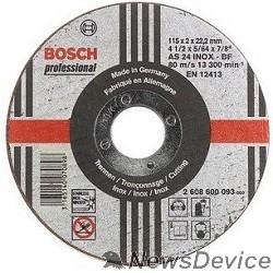 Bosch Bosch 2608600095 ОТРЕЗНОЙ КРУГ INOX 180X2 ММ
