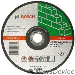 Bosch Bosch 2608600326 ОТРЕЗНОЙ КРУГ КАМЕНЬ 230Х3 ММ