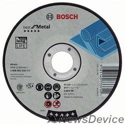 Bosch Bosch 2608603530 Отрезной круг Best по металлу 230x2,5, прямой