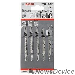 Bosch Bosch 2608634233 5 ЛОБЗИКОВЫХ ПИЛОК Т 101 AOF, BIM