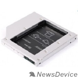 Контейнер для HDD ORICO L95SS-SV Салазки для подключения HDD 2,5'' в отсек привода ноутбука Orico L95SS-SV, шт