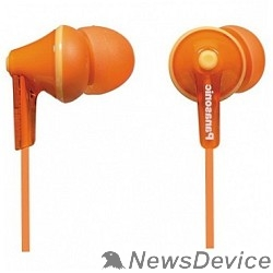 Наушники Panasonic RP-HJE125E-D вкладыши канальные, оранжевые