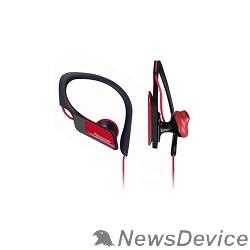 Наушники Panasonic RP-HS34E-R, Спортивные наушники красный
