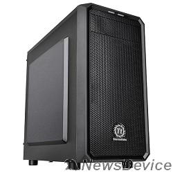 Корпус Case Tt Versa H15 черный w/o PSU mATX 4x120mm 1xUSB2.0 1xUSB3.0 audio bott PSU CA-1D4-00S1NN-00