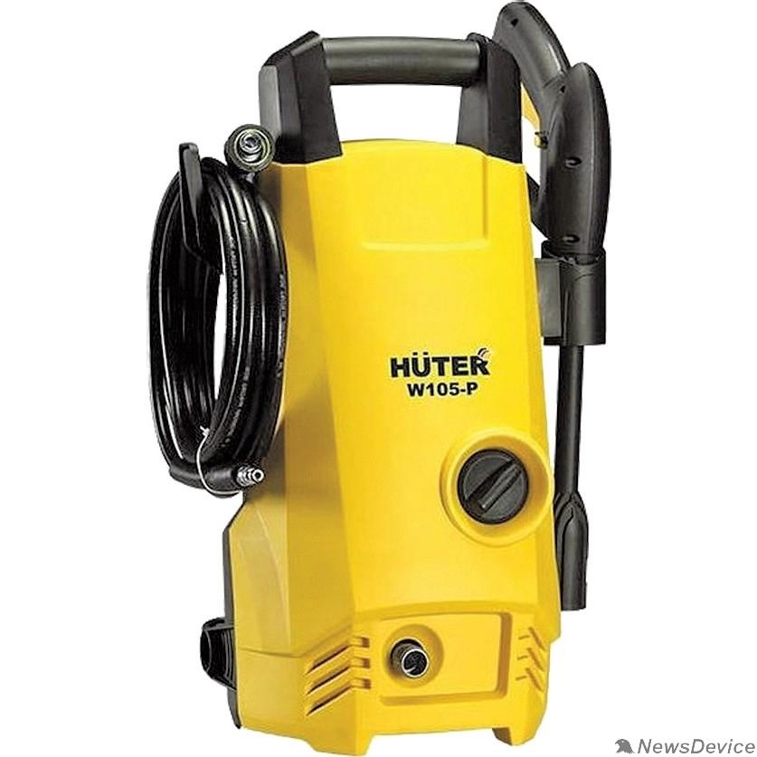 Мойки Huter W105-Р 70/8/3 Мойки высокого давления   1400 вт, 105 бар, расход=342 л/час, вход=0,4 бар