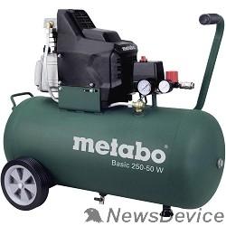 Компрессоры Metabo 250-50W Компрессор 601534000  масл.1.5кВт,50л, вес 32.5 кг