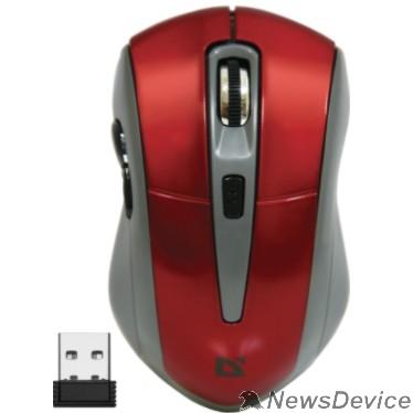Мышь Defender Accura MM-965 Red USB 52966 Беспроводная оптическая мышь, 6кнопок,800-1600dpi