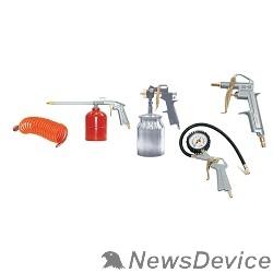 Пневматическое оборудование FUBAG Набор пневмоинструмента 5 предметов 120102 к/р с нижним бачком