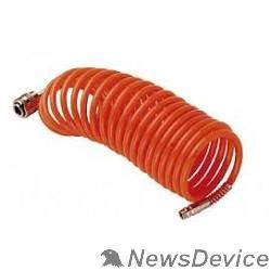 Пневматическое оборудование FUBAG Шланг спиральный с фитингами 170024 рапид_нейлон_10бар_6х8мм_10м