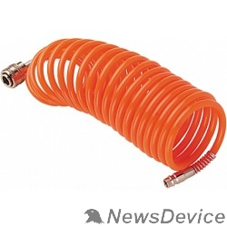 Пневматическое оборудование FUBAG Шланг спиральный с фитингами 170307 рапид_полиуретан_15бар_8х12мм_20м