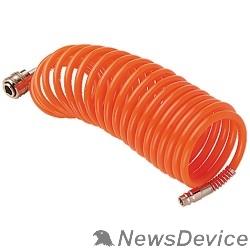 Пневматическое оборудование FUBAG Шланг спиральный с фитингами 170200 рапид_химически стойкий полиамидный (рилсан)_20 бар_6х8мм_5м