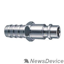 Пневматическое оборудование FUBAG Разъемное соединение рапид (штуцер), елочка 10мм  с обжимным кольцом 10*15мм 180162