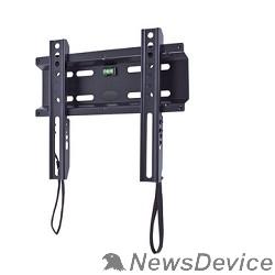 "Крепеж Кронштейн Kromax FLAT-5 NEW, LCD/LED и плазма тв 15""-47"", настенный, 0 ст.свободы, VESA 200x200 мм, черный"