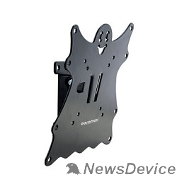 "Крепеж Кронштейн Kromax CASPER-201 black, для LED/LCD TV 20*-40"", max 30 кг, 1 ст свободы, наклон +5°-15°,"