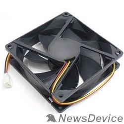 Вентилятор Gembird Вентилятор 80x80x15, подшипник, 3 pin, провод 30 см (D8015BM-3)
