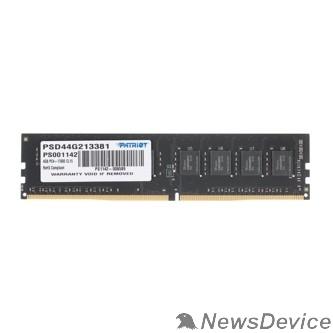 Модуль памяти Patriot DDR4 DIMM 4GB PSD44G213381 PC4-17000, 2133MHz