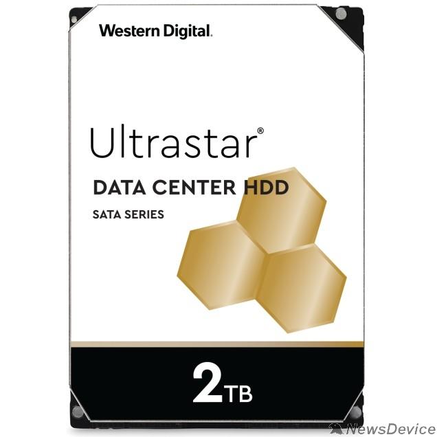 """Жесткий диск 2Tb WD Ultrastar DC HA210 SATA 6Gb/s, 7200 rpm, 128mb buffer, 3.5"""" 1W10002/HUS722T2TALA604"""