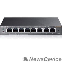 Сетевое оборудование TP-Link TL-SG108PE Easy Smart гигабитный 8-портовый коммутатор с 4 портами PoE SMB