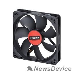 Вентиляторы Exegate EX166176RUS Вентилятор ExeGate Mirage-S 120x120x25 подшипник скольжения, 1200 RPM, 25dB, 3pin