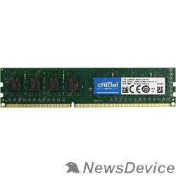 Модуль памяти Crucial DDR3 DIMM 4GB (PC3-12800) 1600MHz CT51264BD160B