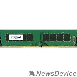 Модуль памяти Crucial DDR4 DIMM 4GB CT4G4DFS824A PC4-19200, 2400MHz