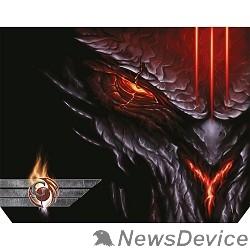 Коврики Dialog Gan-Kata PGK-07 diablo  с рисунком дьявола, Игровая поверхность для мыши - размер 300х235х3мм