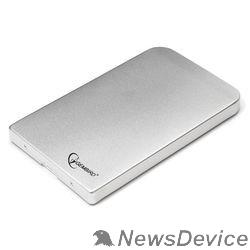 """Контейнер для HDD Gembird EE2-U2S-41-S Внешний корпус 2.5"""" Gembird EE2-U2S-41, серебро, USB 2.0, SATA, металл"""