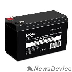 батареи Exegate ES252438RUS Аккумуляторная батарея DTM 1209 (12V 9Ah, клеммы F1)