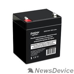батареи Exegate ES252439RUS Аккумуляторная батарея DT 12045 (12V 4.5Ah, клеммы F1)