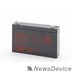батареи CSB Батарея HRL634W (6V, 9Ah) клеммы F2(FR)