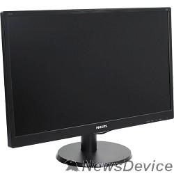 """Монитор LCD PHILIPS 23.6"""" 243V5QSBA (00/01) черный VA 1920x1080 8ms 250cd 178/178 3000:1 D-Sub DVI"""