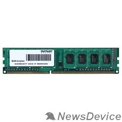 Модуль памяти Patriot DDR3 DIMM 4GB (PC3-12800) 1600MHz PSD34G16002
