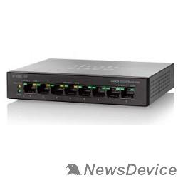 Сетевое оборудование Cisco SB SF110D-08HP-EU Коммутатор 8-Port 10/100 PoE Desktop Switch
