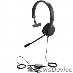 Гарнитура Jabra 4993-823-109 Гарнитура Jabra EVOLVE 20 MS Mono USB (4993-823-109)