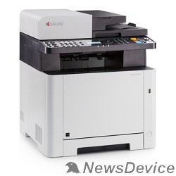 принтер Kyocera M5521cdn (1102RA3NL0) А4,21 ppm,1200 dpi,512 Mb,USB,Network,дуплекс,автоподатчик, старт. тонер
