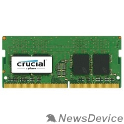 Модуль памяти Crucial DDR4 SODIMM 8GB CT8G4SFS824A PC4-19200, 2400MHz