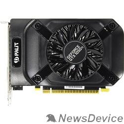 Видеокарта PALIT GeForce GTX1050Ti StormX 4G RTL nVidia GTX1050TI 4096Mb 128bit GDDR5 1290/7000 DVIx1/HDMIx1/D  NE5105T018G1-1070F/NE5105T018G1-1076F RTL