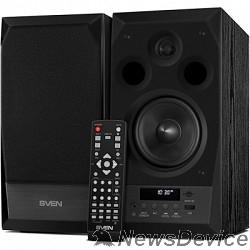 Колонки SVEN АС MC-10, чёрный (50 Вт, FM-тюнер, USB/microSD, дисплей, ПДУ, Bluetooth)