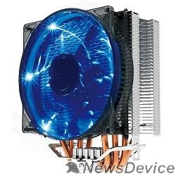 вентилятор CROWN Кулер для процессора CM-4 (Для Intel и AMD,TDP до 160 Ватт,4шт. теплопроводных трубок, Гидродинамическиий подшипник,Размер: 154*124*84 мм)
