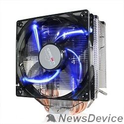 вентилятор CROWN Кулер для процессора CM-5 (Для Intel и AMD,TDP до 187 Ватт,5шт. теплопроводных трубок,Синяя светодиодная подсветка,Гидродинамическиий подшипник,Размер: 148*126*85 мм)