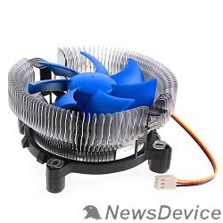 вентилятор CROWN Кулер для процессора CM-90 (Для Intel и AMD,TDP до 95 Ватт,Низкая посадка радиатора,Гидродинамическии подшипник,Размер: 115*110*57 мм)