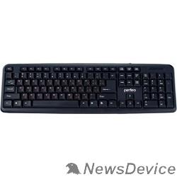 Клавиатуры, мыши Perfeo клавиатура CLASSIC стандартная, USB, чёрная PF_3093