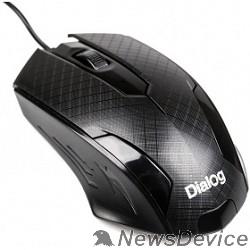Мышь Мышь Dialog Pointer MOP-07U Black USB, оптическая, 3 кнопки + ролик