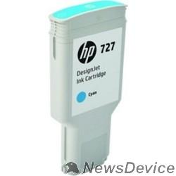 Расходные материалы HP F9J76A Картридж  №727, Cyan DJ T920/T1500/2500/930/1530/2530 (300ml)
