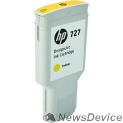 Расходные материалы HP F9J78A Картридж HP №727, Yellow DJ T920/T1500/2500/930/1530/2530 (300ml) - фото 522974