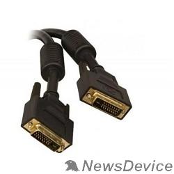 Кабель TV-COM Кабель DVI-D Dual link 25M/25M, экран, феррит.кольца, 5м  (CG441D-5M) 6926123462607