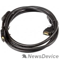 Кабель AOpen/Qust Кабель HDMI 19M/M+2 фильтра 1.4V+3D/Ethernet (ACG511D-1.8M) 1,8/2m, позолоченные контакты 6938510810427